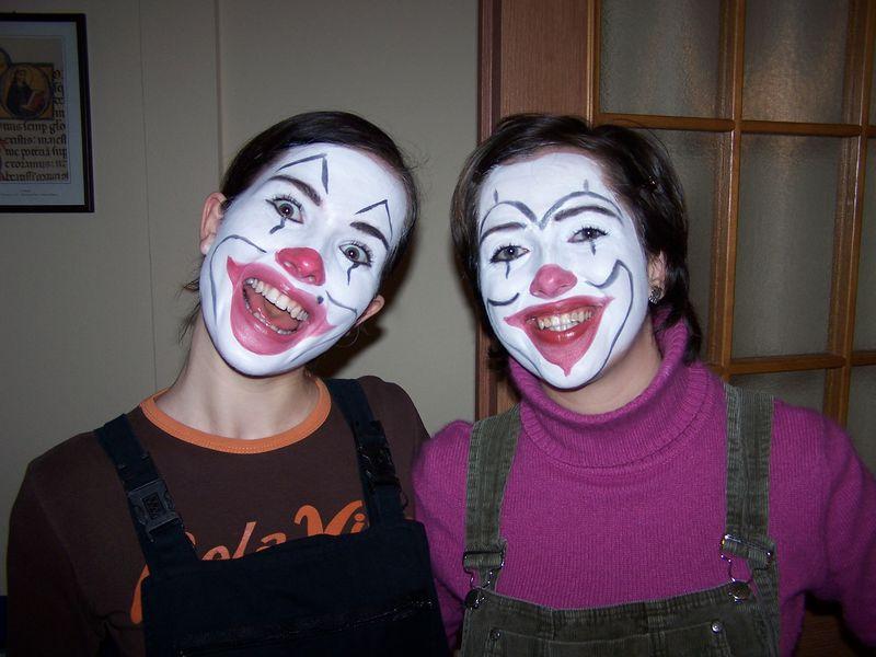 2005 - Pantomima na wieczorze ewangelizacyjnym w Mogilnie