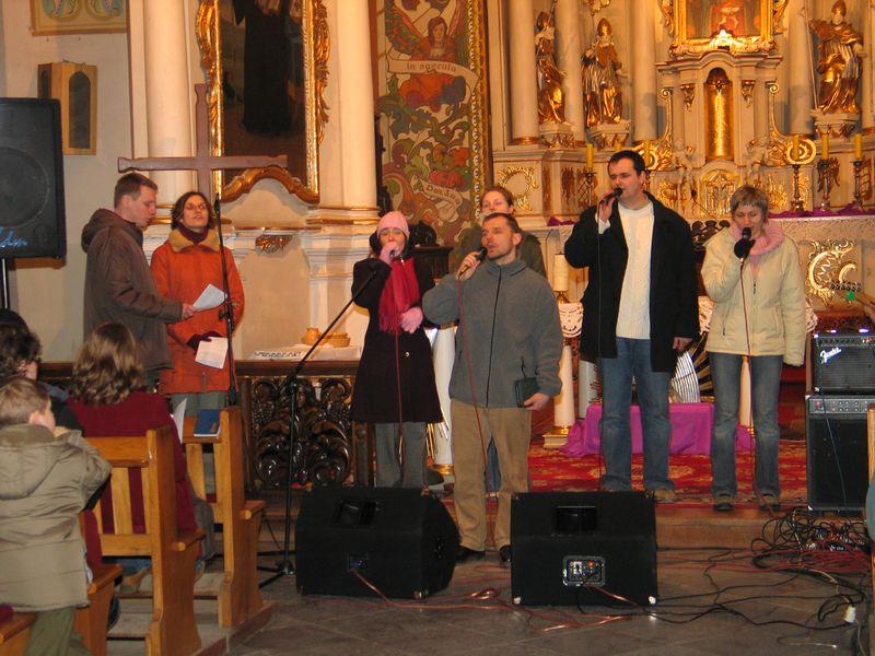 Mogilno 2005 - wieczór ewangelizacyjny