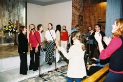 2003 - Msza św. na 10-lecie wspólnoty