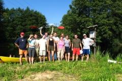 2006 - Wspólnotowy spływ kajakowy
