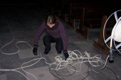 Droga Krzyżowa - rozplątywanie kabli :-)